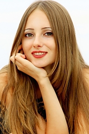 Ukrainian girl Antonina,29 years old with green eyes and blonde hair.