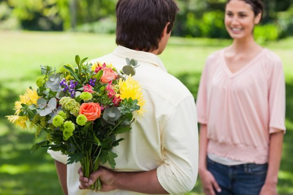 Man-Gives-His-Love-Flowers